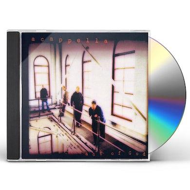 Acappella ACT OF GOD CD