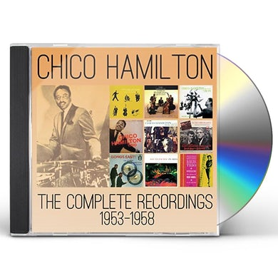 Chico Hamilton COMPLETE RECORDINGS 1953-1958 CD