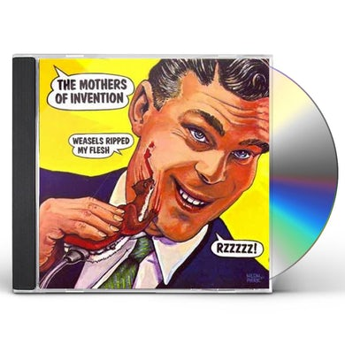 Frank Zappa WEASELS RIPPED MY FLESH CD