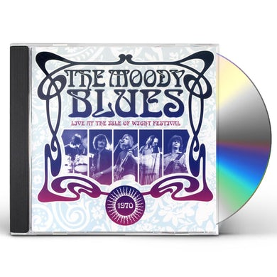 The Moody Blues LIVE AT THE ISLE OF WIGHT FESTIVAL 1970 CD