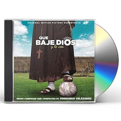 Fernando Velazquez QUE BAJE DIOS Y LO VEA / Original Soundtrack CD