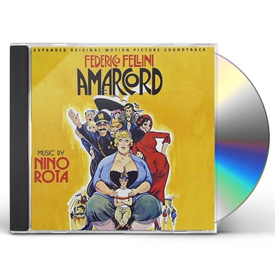 Nino Rota AMARCORD (2000 EDITION) / Original Soundtrack CD