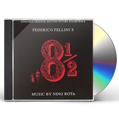 Nino Rota OTTO E MEZZO / Original Soundtrack CD