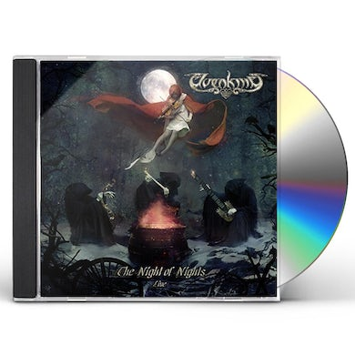 Elvenking THE NIGHT OF NIGHTS - LIVE CD