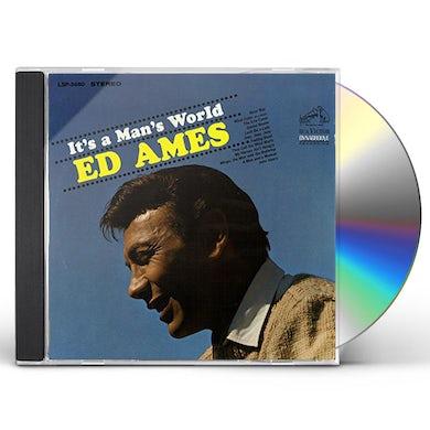 Ed Ames IT'S A MAN'S WORLD CD