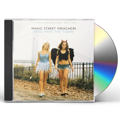 Manic Street Preachers SEND AWAY THE TIGERS 10 YEAR COLLECTORS EDITION CD