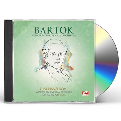 Bartok CONCERTO FOR VIOLA & ORCHESTRA CD