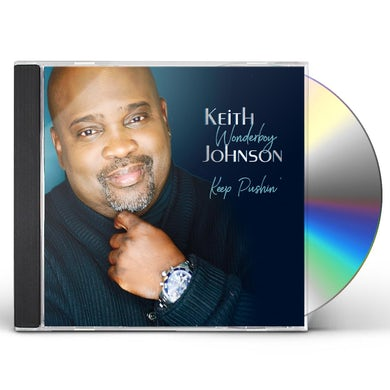 Keith Wonderboy Johnson KEEP PUSHIN' CD