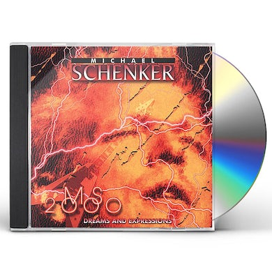 The Michael Schenker Group MS 2000: DREAMS & EXPRESSIONS CD