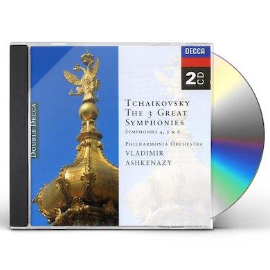 Vladimir Ashkenazy TCHAIKOVSKY: SYMPHONIES 4-6 CD