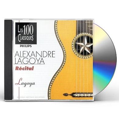 Alexandre Lagoya RECITAL CD