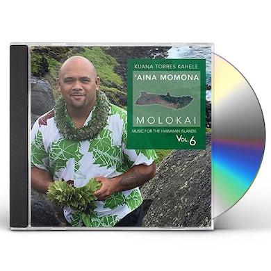 Kuana Torres Kahele MUSIC HAWAIIAN ISLANDS 6 AINA MOMONA MOLOKAI CD