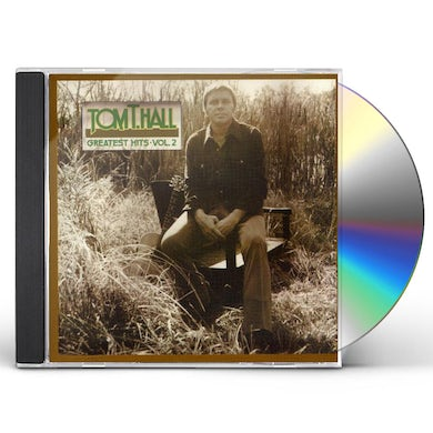 Tom T Hall GREATEST HITS 2 CD