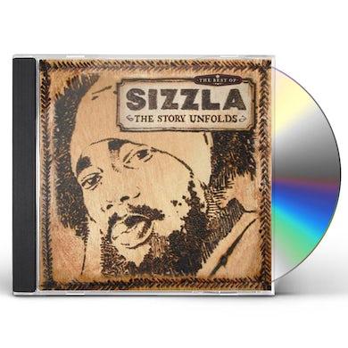 Sizzla STORY UNFOLDS: BEST OF CD