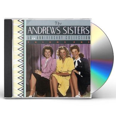 Andrews Sisters 50TH ANNIVERSARY CD