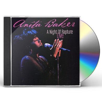 Anita Baker A NIGHT OF RAPTURE: LIVE CD