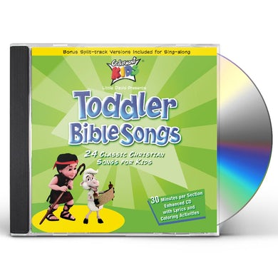 Cedarmont Kids TODDLER BIBLE SONGS CD