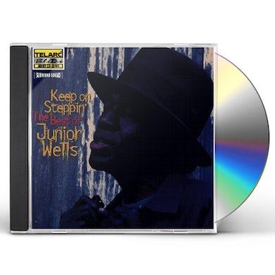 KEEP ON STEPPIN: BEST OF JUNIOR WELLS CD