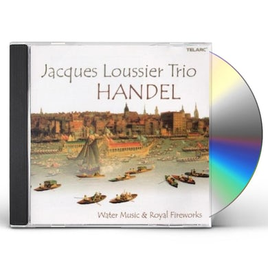 Jacques Loussier HANDEL: WATER MUSIC CD