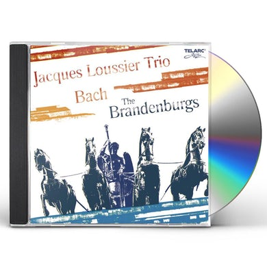 Jacques Loussier Trio The Brandenburgs CD