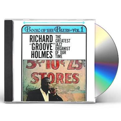 Richard Groove Holmes BOOK OF THE BLUES CD
