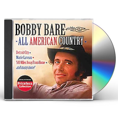 Bobby Bare ALL AMERICAN COUNTRY CD