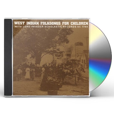 Lord Invader WEST INDIAN FOLKSONGS FOR CHILDREN CD