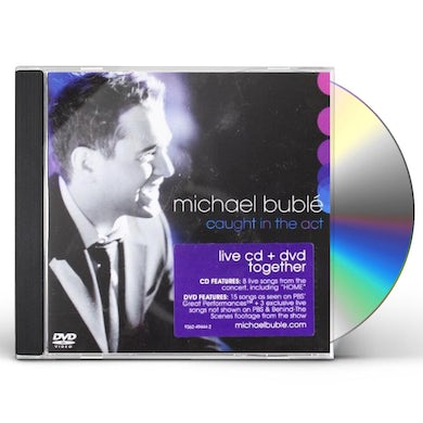 Michael Bublé CAUGHT IN THE ACT CD