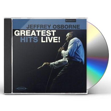 Jeffrey Osborne GREATEST HITS LIVE CD