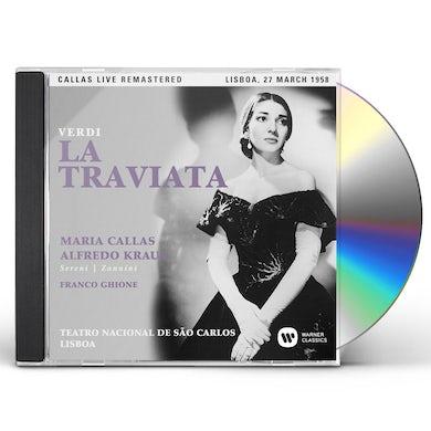 Maria Callas VERDI: LA TRAVIATA (LISBOA 27/03/1958) CD