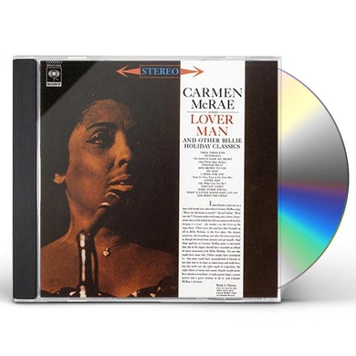 Carmen McRae SINGS LOVER MAN & OTHER BILLIE HOLIDAY CD