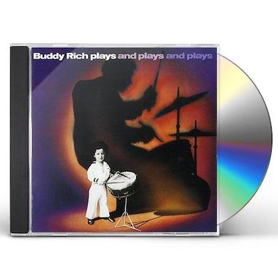 Buddy Rich PLAYS & PLAYS & PLAYS CD