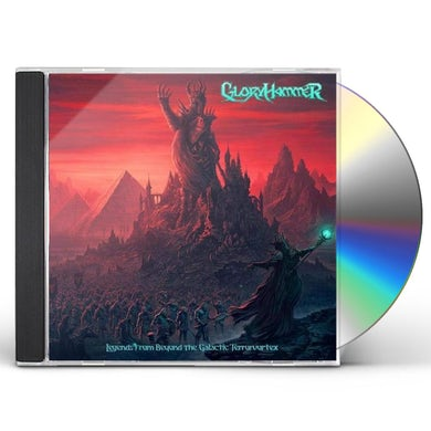 Gloryhammer LEGENDS FROM BEYOND THE GALACTIC TER CD