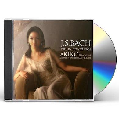 Akiko Suwanai BACH: VIOLIN CONCERTOS CD