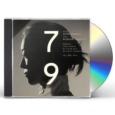 Akiko Suwanai BEETHOVEN: VIOLIN SONATAS NO 7&NO 9 CD