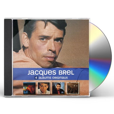 Jacques Brel 4 ORIGINAL ALBUMS CD