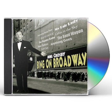 Bing Crosby BING ON BROADWAY CD