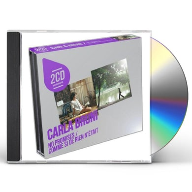 Carla Bruni NO PROMISES/COMME SI DE RIEN N'ET CD