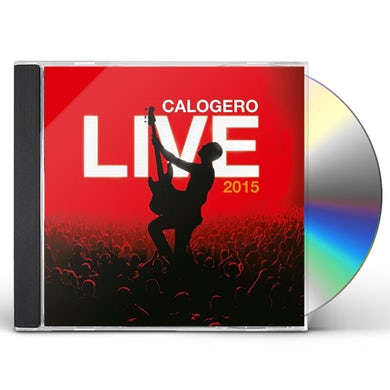 Calogero LIVE: LIMITED EDITION CD