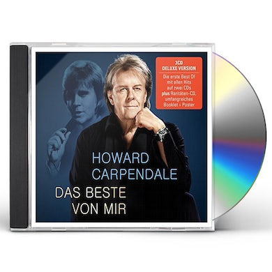 Howard Carpendale BEST OF 2016: DELUXE EDITION CD