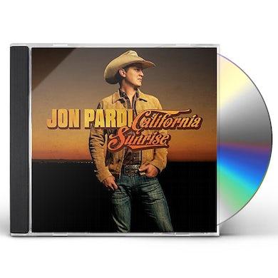 Jon Pardi CALIFORNIA SUNRISE CD