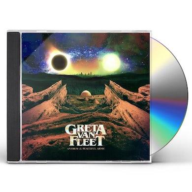 Greta Van Fleet Anthem Of The Peaceful Army CD