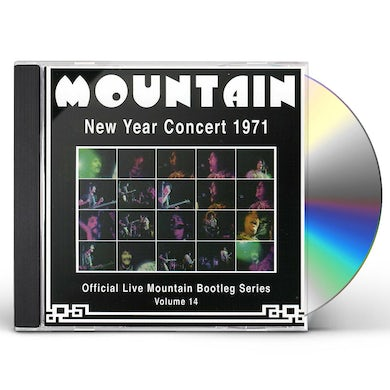 Mountain NEW YEAR CONCERT 1971 CD