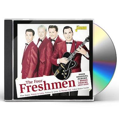 Four Freshmen FOUR ORIGINAL ALBUMS + BONUS TRACKS 1957-1959 CD