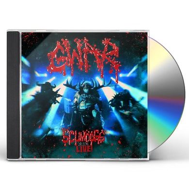 Gwar SCUMDOGS XXX LIVE CD