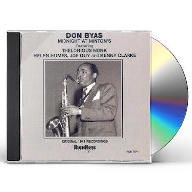 Don Byas MIDNIGHT AT MINTON'S CD