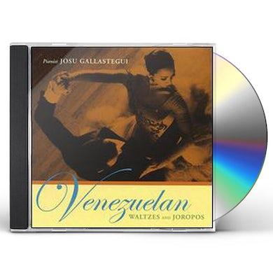 Josu Gallastegui VENEZUELAN WALTZES & JOROPOS CD