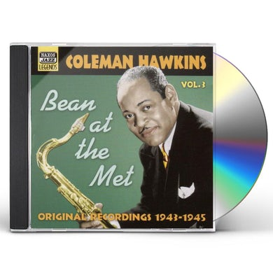 Coleman Hawkins VOL. 3-BEAN AT THE MET CD