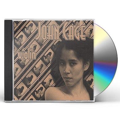 John Cage ONE VIOLIN ONE6 ONE10/CHRISTINA FONG VIOLIN CD