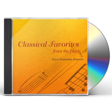 Sally Fletcher CLASSICAL FAVORITES FROM THE HARP CD